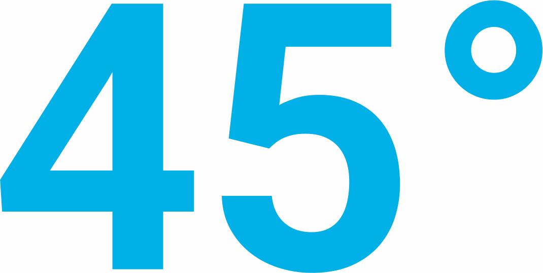45 Grad